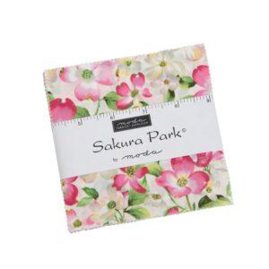 Sakura Park Charm Pack By Moda