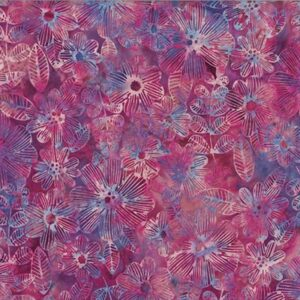 Bali Batiks By Hoffman - Winter Cherry