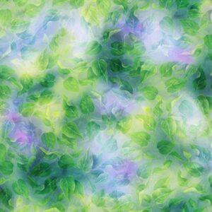 Spring Song Digital Print By Hoffman - Leaf