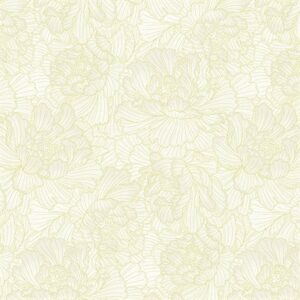 Graceful Garden By Hoffman - Papyrus/Gold
