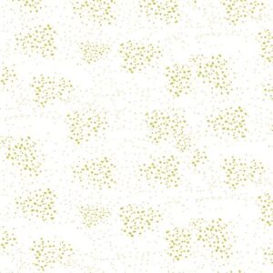 Graceful Garden By Hoffman - White/Gold