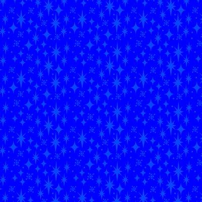 Stars By Sue Marsh For Rjr Fabrics - Blue