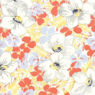 Fine And Sunny By Jen Kingwell For Moda - Mango Cream
