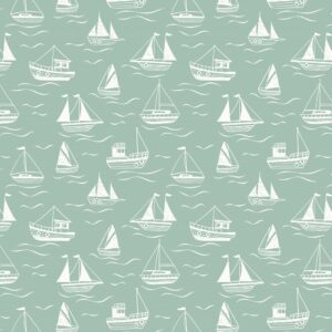 Thalassophile By Lewis & Irene - Sea Green