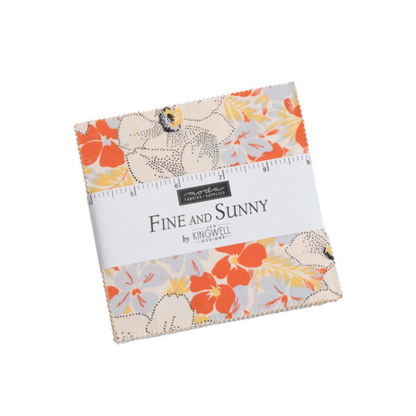 Fine And Sunny Charm Pack By Moda