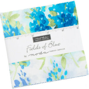 Fields Of Blue Charm Pack