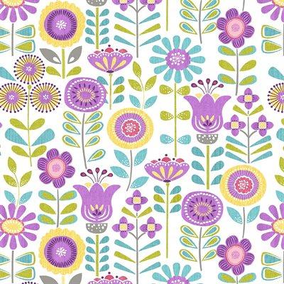 Planted With Love By Contempo Studio For Benartex - White/Multi