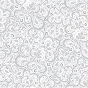 First Frost By Amanda Murphy For Benartex - Silver