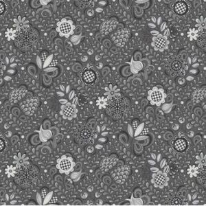 First Frost By Amanda Murphy For Benartex - Gray