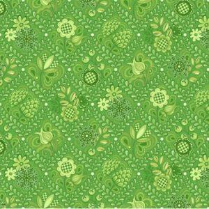First Frost By Amanda Murphy For Benartex - Green