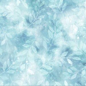 Woodland Winter Digital Print By Hoffman - Breeze