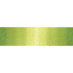 Ombre Confetti Metallic By V & Co By Moda - Lime Green
