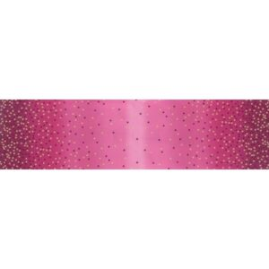 Ombre Confetti Metallic By V & Co By Moda - Magenta