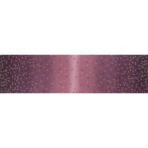 Ombre Confetti Metallic By V & Co By Moda - Plum