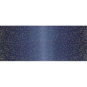 Ombre Confetti Metallic By V & Co By Moda - Indigo