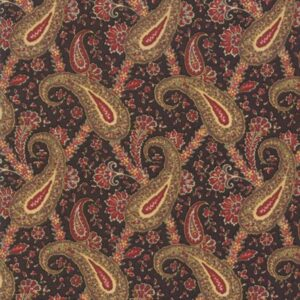 Nancy's Needle 1850-1880 By Betsy Chutchian For Moda - Black Walnut
