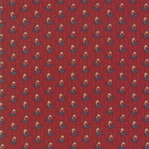 Nancy's Needle 1850-1880 By Betsy Chutchian For Moda - Berry Red