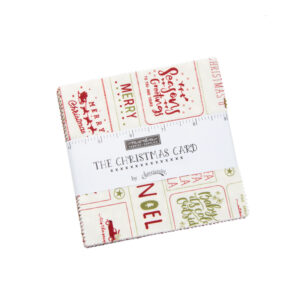 The Christmas Card Charm Pack By Moda