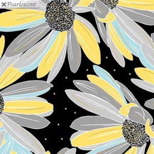 Shimmer & Shine By Kanvas Studio For Benartex - Black