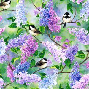 Spring Song Digital Print By Hoffman - Spring
