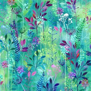 Spring Song Digital Print By Hoffman - Hummingbird