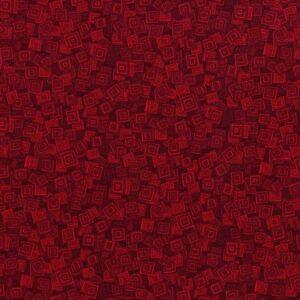 Hopscotch By Jamie Fingal For Rjr Fabrics - Scarlet