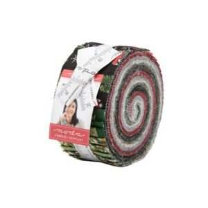 Homegrown Holidays Jelly Roll By Moda
