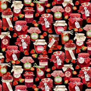 Strawberry Fields Forever By Kanvas Studio For Benaretx - Black