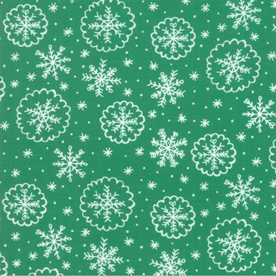 Deck The Halls By Stacy Iest Hsu For Moda - Green