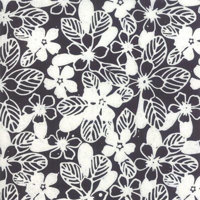 Aloha Batiks By Moda - Black And White