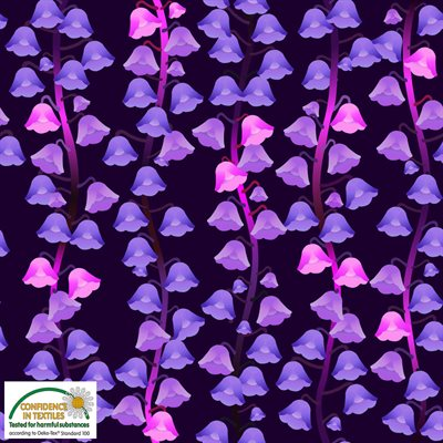 Luxury Unicorns By Stof - Purple