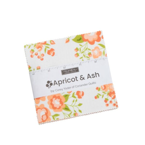 Apricot & Ash Charm Pack By Moda
