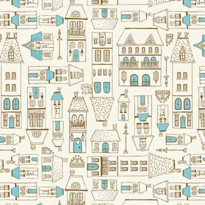City Hoppers By Michael Miller - Blue