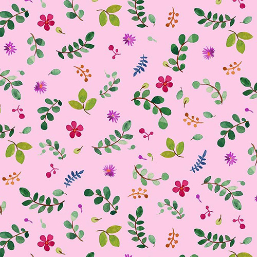 Zen Garden By Michael Miller - Pink
