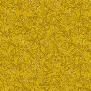 Accent On Sunflowers By Jackie Robinson For Benartex - Gold