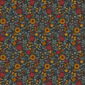 Quilter Barn Prints 2 By Painted Sky Studio For Benartex - Black/Multi