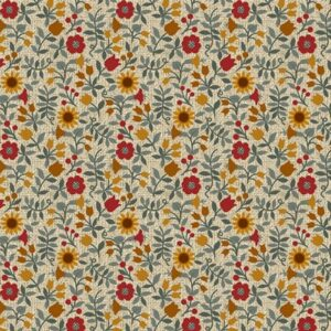 Quilter Barn Prints 2 By Painted Sky Studio For Benartex - Natural/Multi