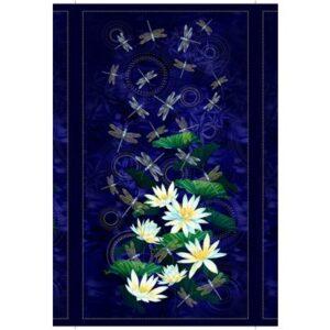 Moonlight Serenade By Kanvas Studio For Benartex - Indigo - Panel