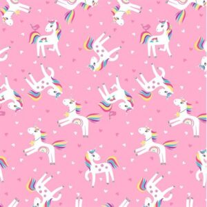 Unicorn Magic By Kanvas Studio For Benartex - Pink