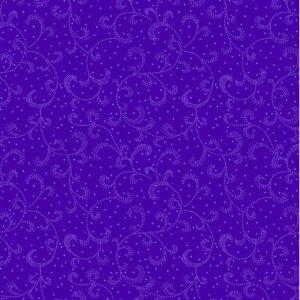 Color Theory By Kanvas Studio For Benartex - Dark Purple