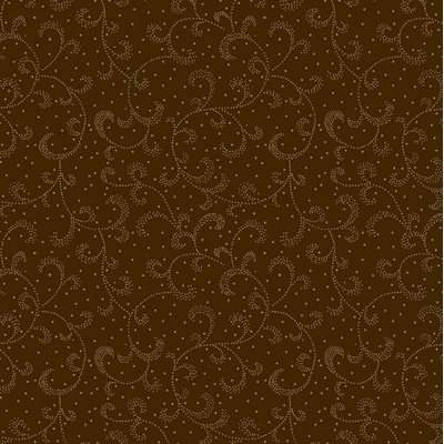 Color Theory By Kanvas Studio For Benartex - Chestnut Brown