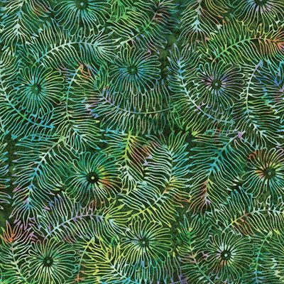 Bali Batiks By Hoffman - Rainforest