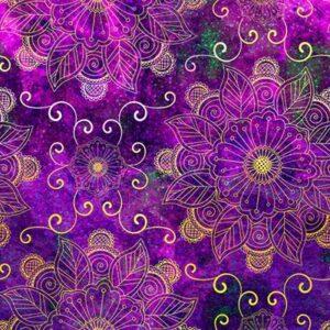 Floral Rhapsody Digital By Hoffman - Light Bright