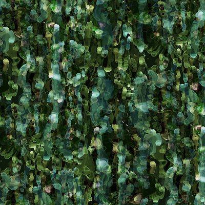 Floral Wonder Digital Print By Hoffman - Emerald