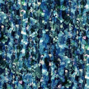 Floral Wonder Digital Print By Hoffman - Blue