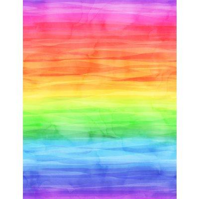 Cue The Confetti Digital By Hoffman - Rainbow