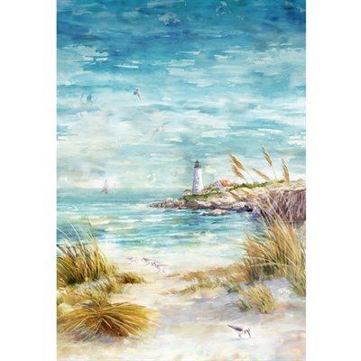 Shoreline Stories Digital Print By Hoffman - Seaside