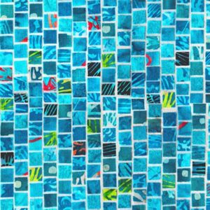 Mosaic Masterpiece Digital By Hoffman - Aqua