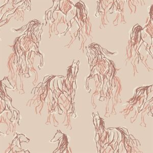 Wild Horses By Rjr Studio For Rjr Fabrics - Clay