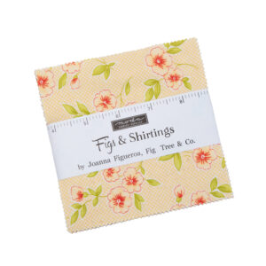 Figs & Shirtings Charm Pack By Moda
